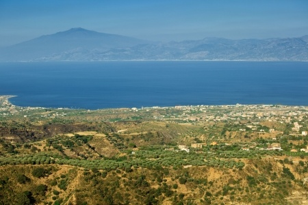 View from Aspromonte - Calabria, Italy