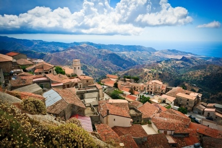 Mountain village Calabria,  Italy
